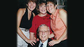 Photo of the Goodman family. Link to their story.
