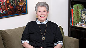 Photo of Judy Eisner. Link to her story.